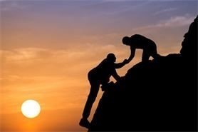 a hand up - mentoring