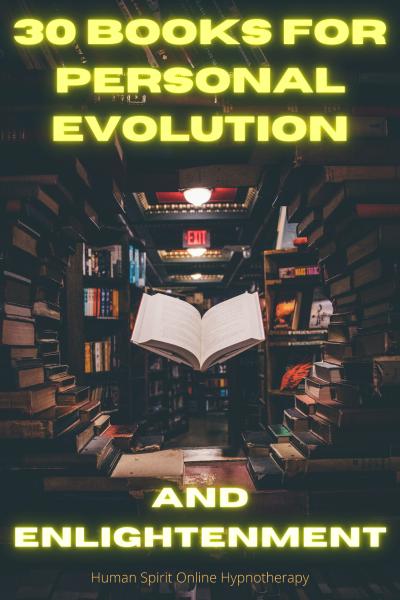 30 self-help books for personal development and spiritual evolution