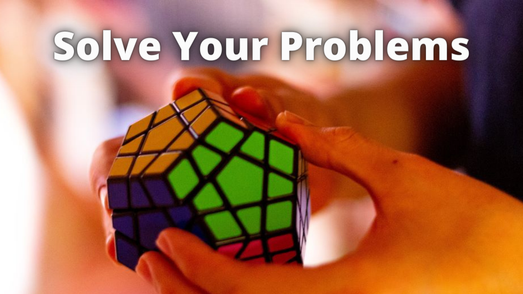 Ribik's Cube - solve your problems with hypnotherapy